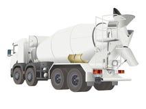 Camion de mélangeur Photo libre de droits