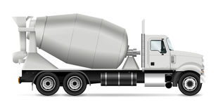 Camion de mélangeur Photos stock