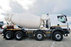 Camion de mélangeur concret Image libre de droits