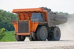 Camion de mine de houille Photo stock