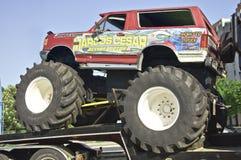 Camion de monstre 4x4 Photos libres de droits