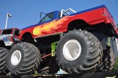 Camion de monstre 4x4 Images libres de droits