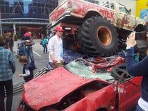 Camion de monstre Photographie stock