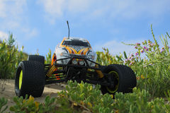 Camion de monstre nitro de RC Images stock