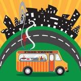 Camion de nourriture illustration libre de droits