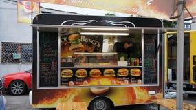 Camion de nourriture dans PIOTRKOWSKA 217 Photographie stock