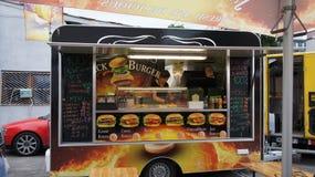 Camion de nourriture dans PIOTRKOWSKA 217 Images libres de droits