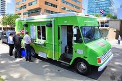 Camion de nourriture de chariot de nouille Images libres de droits