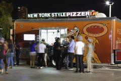 Camion de nourriture de pizza chez Wynwood Photographie stock libre de droits