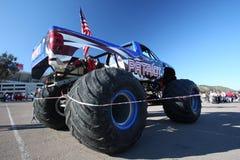 camion de patriote de monstre de bourrage photo libre de droits