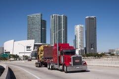 Camion de Peterbilt Images libres de droits