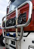 Camion de pompiers 1 Photos stock