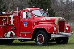 Camion de pompiers antique Photo libre de droits