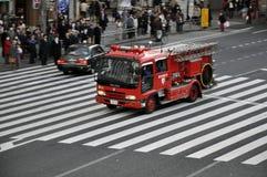 Camion de pompiers au Japon Photos stock