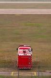 Camion de pompiers d'aviation Images libres de droits