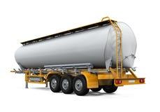 Camion de réservoir de stockage de pétrole Photos libres de droits