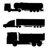 Camion de réservoir de TIR Images stock