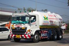 Camion de réservoir de Lamphun Gas Picnic Company Image libre de droits