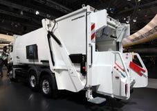 Camion de ramassage d'ordures photos libres de droits
