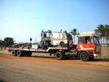 camion de remorque Images stock