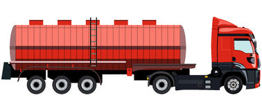 Camion de réservoir Images stock