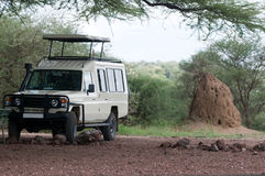 Camion de safari Images libres de droits