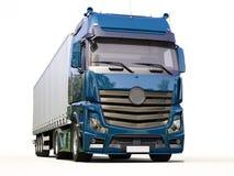 Camion de semi-remorque Image libre de droits