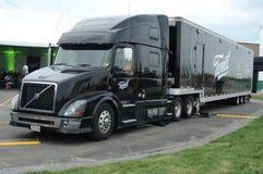 Camion de transport de tweed photographie stock