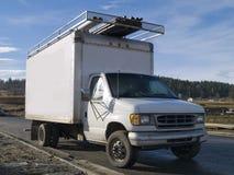 Camion de travail Photo stock