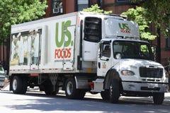 Camion degli alimenti degli Stati Uniti immagine stock
