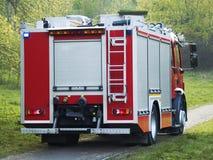 Camion dei vigili del fuoco immagini stock