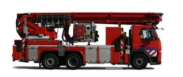 Camion dei vigili del fuoco Fotografie Stock Libere da Diritti