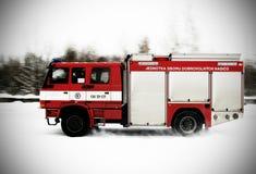 Camion dei vigili del fuoco Fotografia Stock Libera da Diritti