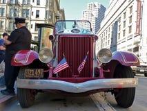 Camion dei vigili del fuoco classico Fotografie Stock Libere da Diritti