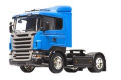 Camion del blu del giocattolo Fotografie Stock Libere da Diritti
