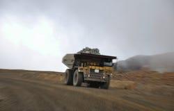 Camion del carbone Fotografie Stock Libere da Diritti