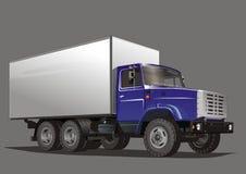 Camion del carico di vettore Fotografia Stock Libera da Diritti