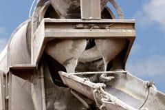 Camion del cemento Immagini Stock Libere da Diritti