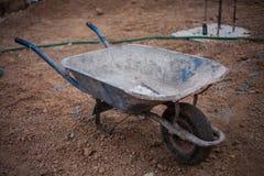 Camion del cemento Fotografie Stock Libere da Diritti
