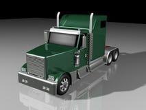 camion del classico 3d Fotografia Stock Libera da Diritti