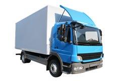 Camion del frigorifero immagini stock