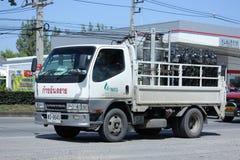 Camion del gas della società di gas industriale nordica Immagini Stock