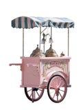 Camion del gelato Immagini Stock Libere da Diritti