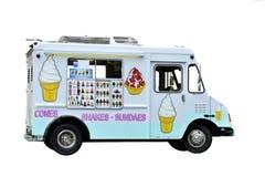 Camion del gelato fotografia stock