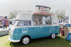 Camion del gelato del T1 di Volkswagen fotografie stock