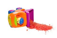 Camion del giocattolo Immagini Stock