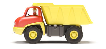 Camion del giocattolo Fotografia Stock Libera da Diritti