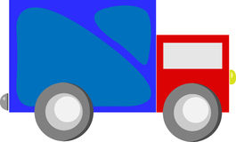 Camion del giocattolo del fumetto Fotografia Stock