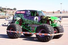 Camion del mostro del Gravedigger Fotografia Stock Libera da Diritti