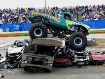 Camion del mostro di Swampthing Immagini Stock